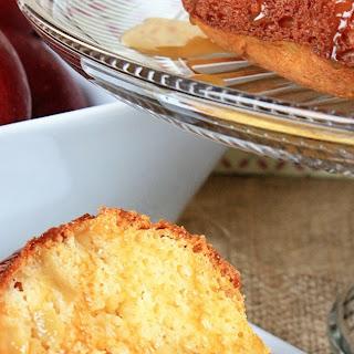 Cake Mix Caramel Apple Cake.