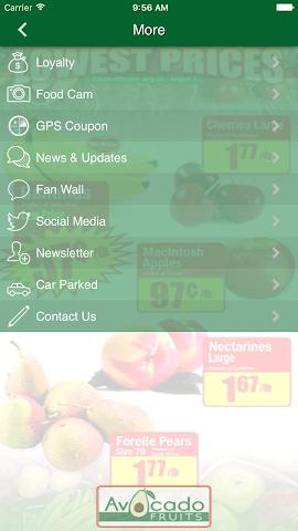android Avocado Fruits Screenshot 8
