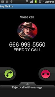 fake call from freddy - náhled