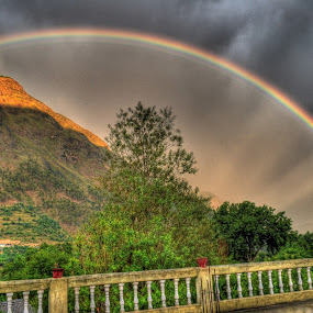 Rainbow HDR by Prashant Thakur - Landscapes Mountains & Hills