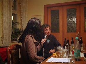 Photo: Interview voor bluesprogramma (Nederland)
