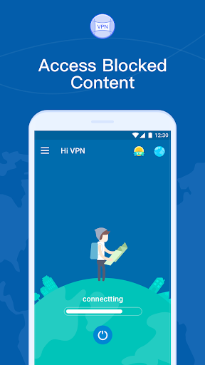 Hi VPN - Super Fast VPN Proxy, Secure Hotspot VPN  screenshots 4