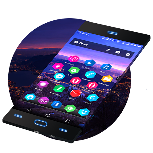 Hexa Icon Pack,Theme for FREE Icon