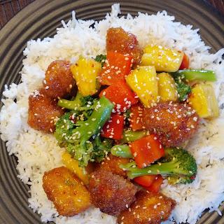 Sweet and Sour Tofu Bites