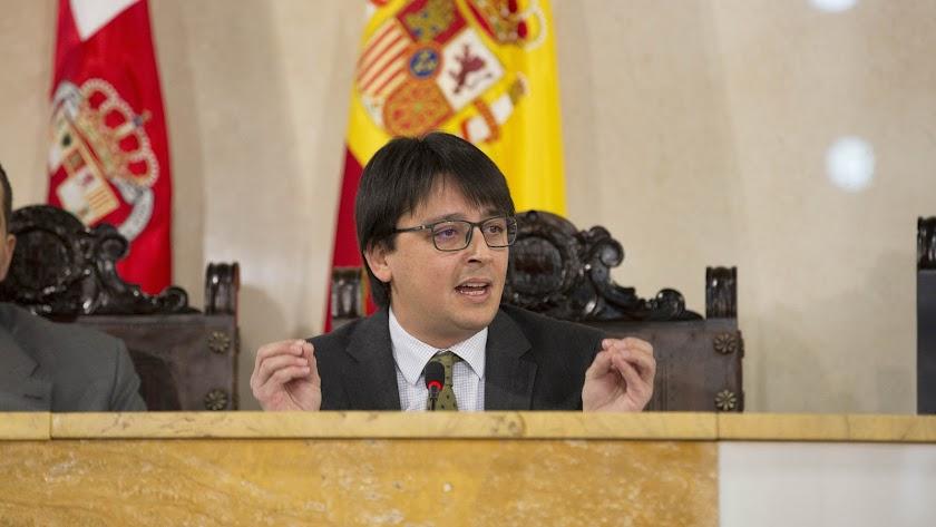 Manuel Guzmán, concejal de Seguridad y Movilidad