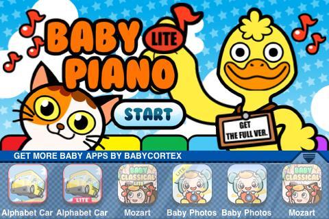 Скриншот Baby Piano Lite
