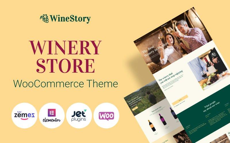 Fastest WooCommerce themes - WineStory