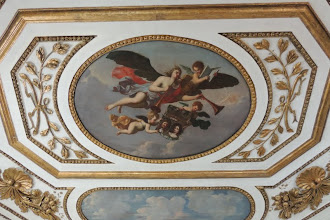 Photo: Vorgemach des Kurfürsten - Deckengemälde von Samuel Theodor Gericke, signiert 1687, Darstellung einer Fama als Verkünderin des Ruhmes des brandenburgischen Herrscherhauses.