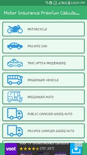 Motor Insurance Premium Calculator Apk  Download For Android 2