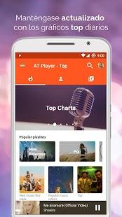 Player Gratis Música YouTube: Free Music: miniatura de captura de pantalla