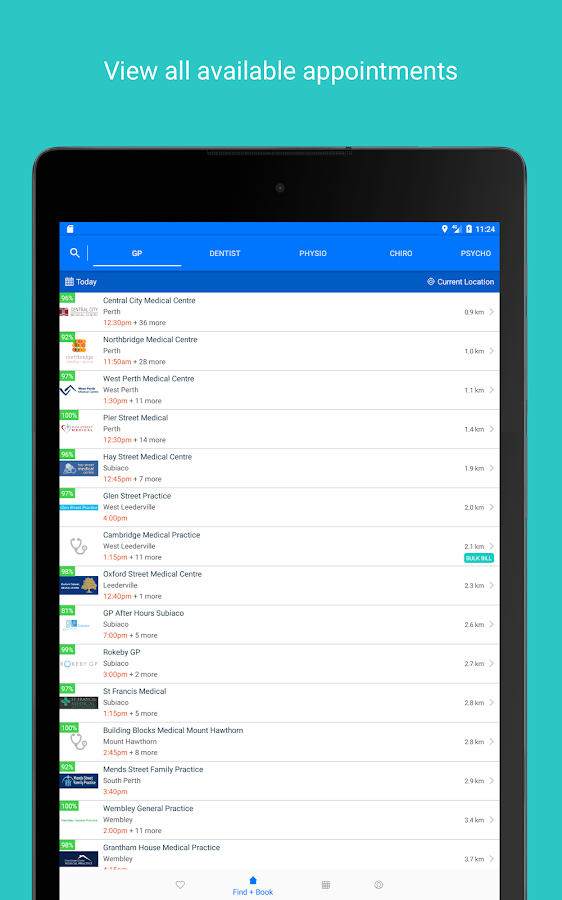 HealthEngine: Doctor Appointments- screenshot