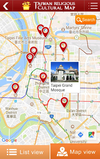 Taiwan Religious Culture Map  screenshots 5
