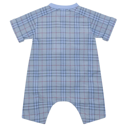 Thumbnail images of Burberry Blue Check Onsie