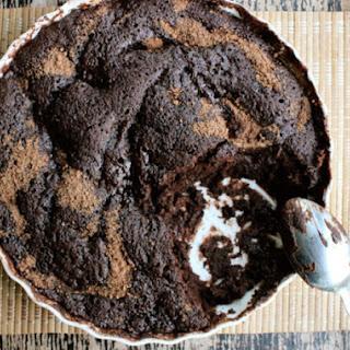 5 Minute Fudgy Chocolate Microwave Cake.