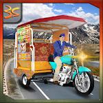 Crazy Chingchi Auto Rickshaw Icon