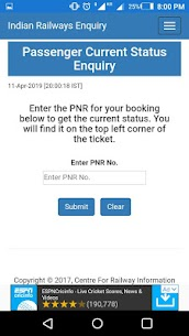 IRCTC Railway Schedule App Download For Android 4
