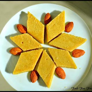 Badam Desserts Recipes.