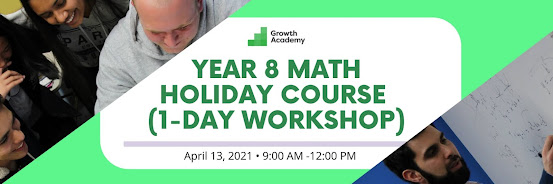 Year 8 Math Holiday Course (1-day workshop)