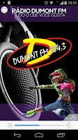 Screenshot of Rádio Dumont FM