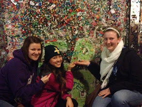Photo: Pike Place Market excursion, visiting the gum wall