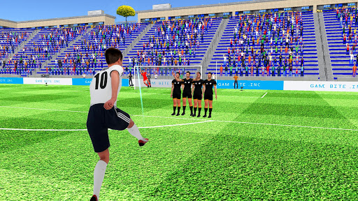 Flick Football Strike: FreeKick Soccer Games screenshot 7