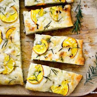 Meyer Lemon and Rosemary Focaccia Recipe