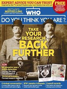 Who do You Think You Are? Magazine- screenshot thumbnail