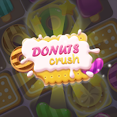Donuts Crush - Match 3 Game