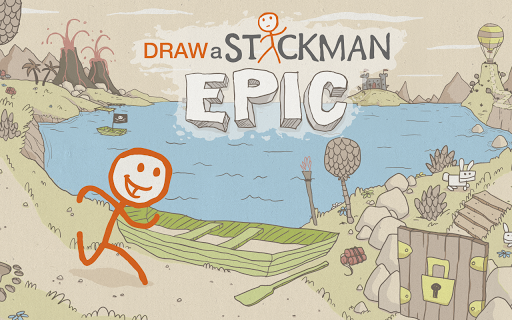 Draw a Stickman: EPIC Free  captures d'u00e9cran 1