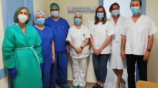 Torrecárdenas incorpora una sala para tratamiento con inyecciones intravítreas