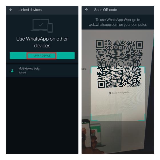 whatsapp web sign in