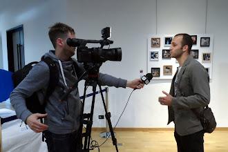 Photo: Maxime Marion, interviewé par StrasTV