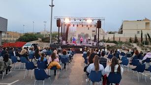 Lérica en el primer concierto de las fiestas de 2021 con todas las medidas de seguridad.