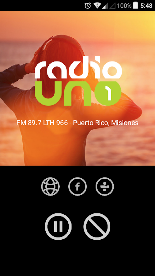 Radio Uno 89.7: captura de pantalla