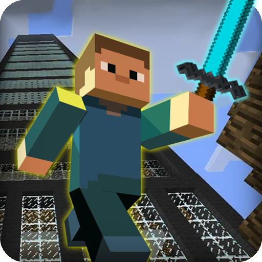 动作のブロックサバイバルゲームDiverse Survival LOGO-記事Game