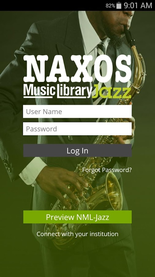 NML Jazz- screenshot