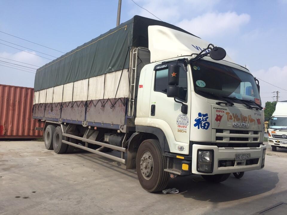 Chành xe tải ghép hàng vận chuyển đi Hà Nội giá rẻ