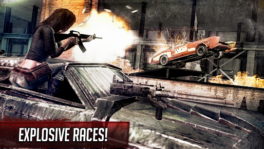 Death Race ® – Shooting Games in Racing Cars 9