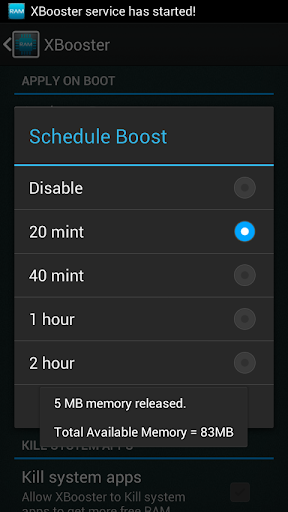 XBooster *ROOT* - Free 5.1.2 screenshots 4