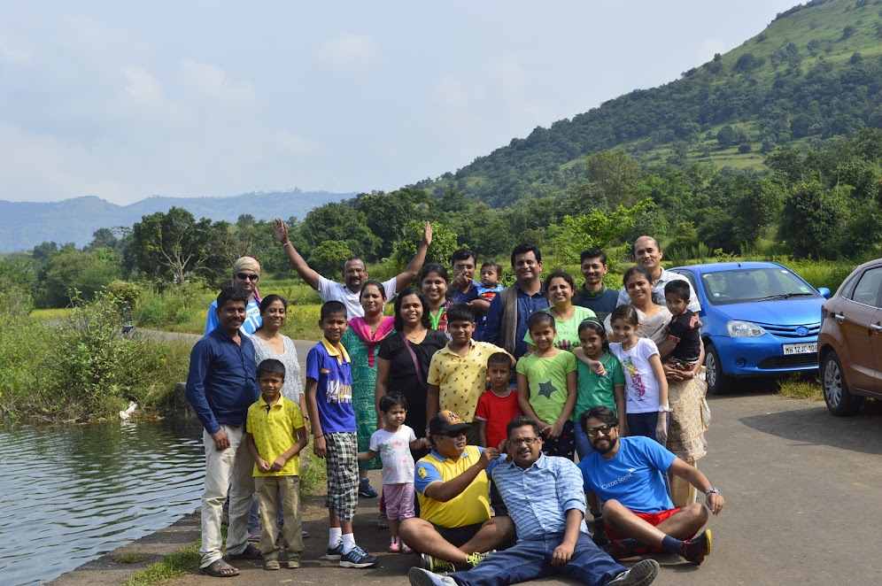 The Gang - Family camping near Pune
