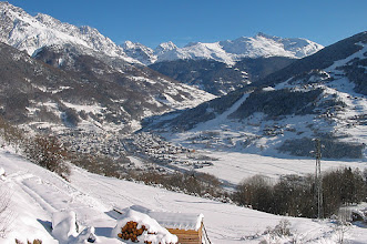 Photo: Panorama invernale su Bormio e Valfurva da Oga-Camplonc  [by Antonio SISANA - thanks!]