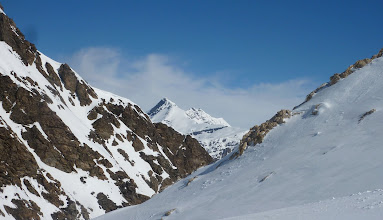 Photo: Heading to the Col Pers with Sassiere in background