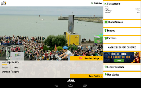 TOUR DE FRANCE 2016 by ŠKODA – Vignette de la capture d'écran
