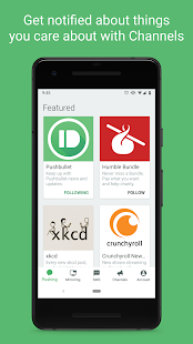App Pushbullet - SMS on PC and more APK for Windows Phone