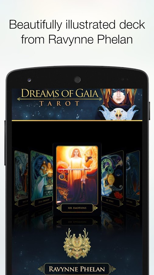 Dreams of Gaia Tarot- screenshot