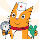Cats Pets Animal Doctor Games for Kids! Pet doctor
