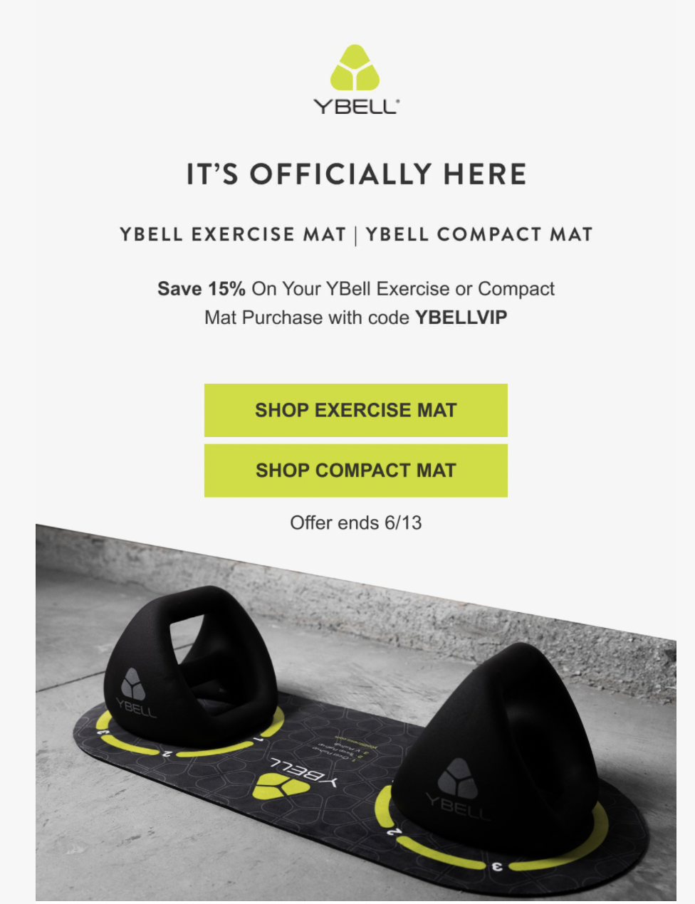 ecommerce product launch email campaign