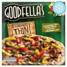 Goodfella's Stone Baked Thin Pizza - Chargrilled Vegetables and Pesto, 400g