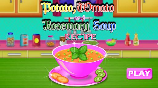 Potato Tomato and Rosemary Soup - Recipe Game 1.0 screenshots 1