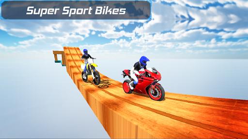 Bike Racing in sky 3D  screenshots 1